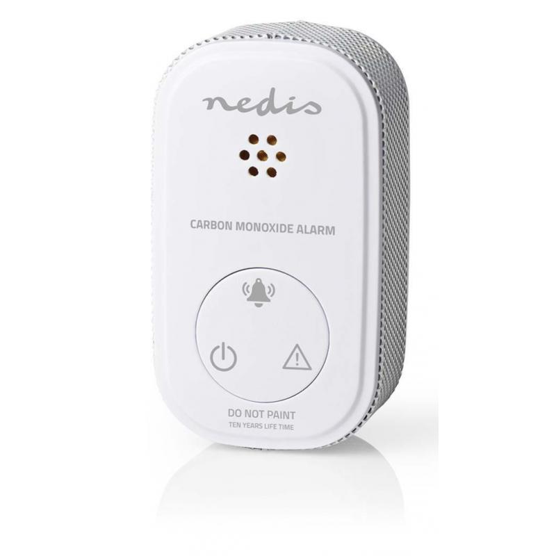 Koolmonoxide CO melder | Klein Design | Sensor en Levensduur Batterij van 10 Jaar