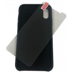 iPhone X/XS zwarte softcase...